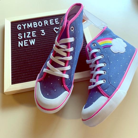 GYMBOREE RED WHITE /& CUTE STARS N STRIPES SLIP-ON SNEAKERS 10 11 13 2 NWT